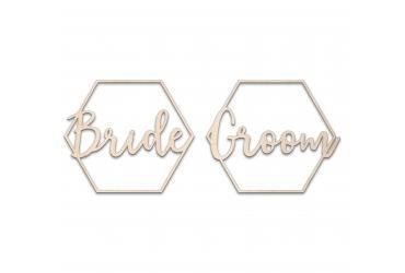 Darstellung des Produktes <span>Sechseck Bride Groom</span>