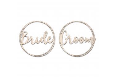 Darstellung des Produktes <span>Doppelkreis Bride Groom</span>